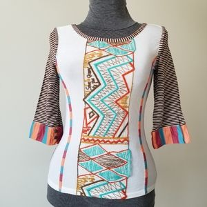 Save The Queen 3/4 Sleeve Top